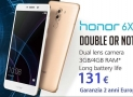 Offre - Huawei Honor 6X 3 / 32Gb Argent à 131 € Garantie 2 ans Europe Italie express inclus