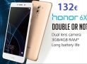 Offer - Huawei Honor 6X 3 / 32Gb Silver to 132 € Italy express included