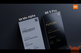 Xiaomi Mi Mix alpha shows itself in an official teaser (or almost) ...