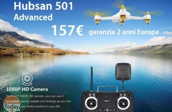 Discount Code - Hubsan H501S X4 Brushless Drone Advanced EU Plug to 157 € 2 warranty years Europe !!