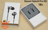 डिस्काउंट कोड - Xiaomi In-Ear Hybrid Earphones Pro HD to 18 €