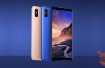 Oferta - Mi Max 3 da China (Banda 20) 4 / 64Gb para 191 € do armazém da UE