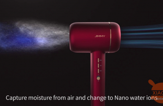 Discount Code - Jimmy F6 Ultrasonic Hair Dryer on offer at 194 € with wonderbox box as a gift! FREE 24h shipping
