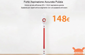 Discount Code - Xiaomi Jimmy JV51 wireless cyclonic vacuum cleaner for 148 € and JV71 for 178 €