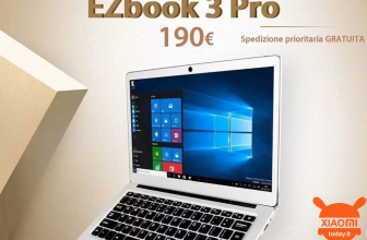 Discount Code - Jumper EZBOOK 3 PRO Notebook 6 / 64Gb at 190 €