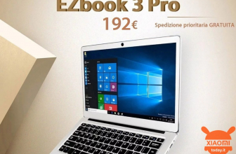 Kode Diskon - Jumper EZBOOK 3 PRO Notebook 6 / 64Gb at 192 €