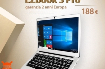 Offer - EZBOOK 3 PRO Jumper 6 / 64 Gb Notebook Silver to 188 € 2 Warranty years Europe