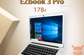 Discount Code - Jumper EZBOOK 3 PRO Notebook 6 / 64Gb to 178 € FREE priority shipping and mouse, headphones, free gift (only 4 pieces left)