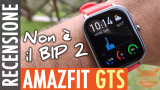 Review Amazfit GTS - Much more than an 2 BIP