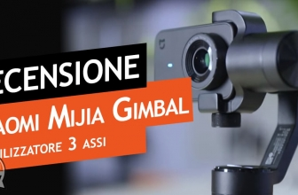 Review Xiaomi Mijia Gimbal stabilizer at 3 axes ... it's all a balance over madness