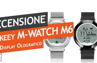 Recensione Bakeey M6, lo smartwatch con display olografico