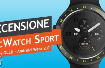 Recensione Ticwatch S – Un best buy da polso