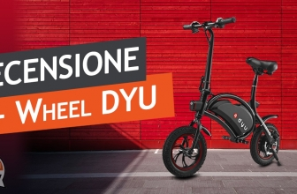 F-Wheel Review DYU D1 E-Bike - An economical electric bike that you will not save