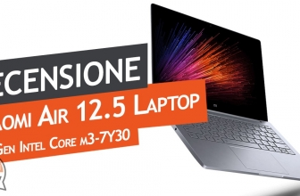 Recensione Xiaomi Mi Notebook Air 12.5