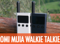 Review Xiaomi Mijia Walkie Talkie 1S - with GPS and Bluetooth !!!