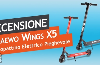 Recensione monopattino elettrico Phaewo Wings X5 – Una valida alternativa all'M365 di Xiaomi