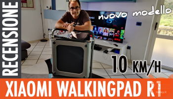 Xiaomi WalkingPad R1- Review of the treadmill for running at home