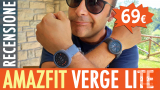 Review Amazfit Verge Lite - Crazy autonomy in exchange for some compromise