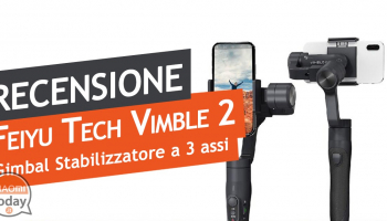 Recensione FeiyuTech Vimble 2