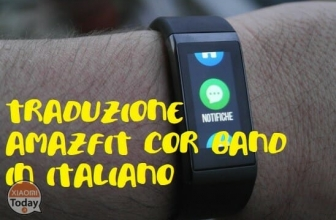 Guide - How to translate the AmazFit Cor Band into Italian