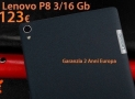 Offer - Lenovo P8 tablet black 3 / 16Gb 4g version to 123 € 2 guarantee years Europe