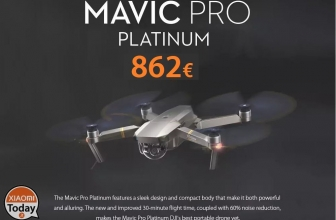 Discount Code - DJI Mavic Pro Platinum Quadcopter to 862 € !! Shipping and Customs Included