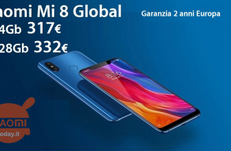 Discount Code - Xiaomi Mi8 6 / 64Gb Global to 317 € and 6 / 128Gb to 332 € 2 guarantee years Europe and priority shipping Free!