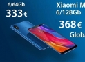 Discount Code - Xiaomi Mi8 Black / Gold 6 / 128Gb global from 368 € and 6 / 64Gb to 333 €!