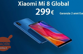 Discount Code - Xiaomi Mi8 Blue 6 / 128Gb global to 326 € and 6 / 64Gb to 299 € 2 years warranty Europe and shipping Italy Express Included!