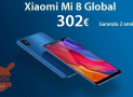 Offer - Xiaomi Mi8 Global 6 / 64Gb to 302 € and 6 / 128Gb Global to 329 € 2 guarantee years Europe and priority delivery Included