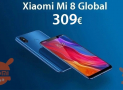 Offre - Xiaomi Mi8 Global 6 / 64Gb à 309 € et 6 / 128Gb Global à 329 € envoi prioritaire inclus