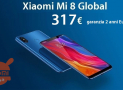 Discount Code - Xiaomi Mi8 6 / 64Gb Global to 317 € 2 guarantee years Europe and priority shipping Free!
