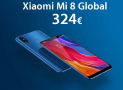 Discount Code - Xiaomi Mi8 6 / 128Gb global from 343 € the 6 / 64Gb to 324 € and the 6 / 256Gb to ONLY 396 €!
