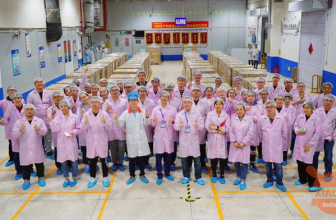 This is how Xiaomi Mi 9 is produced at the Foxconn plant