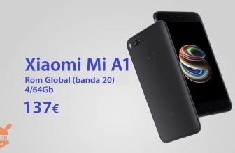 Discount Code - Xiaomi Mi A1 4 / 64Gb to 137 € and 4 / 32Gb to 128 €