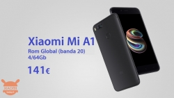 Code promotionnel - Xiaomi Mi A1 4 / 64Gb à 141 €