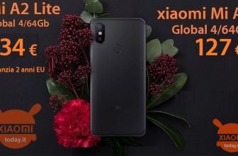 Discount Code - Xiaomi Mi A2 / A2 Lite 4 / 64Gb to 134 € warranty 2 years Europe and priority shipping included and Mi A2 4 / 64Gb to 127 € from China