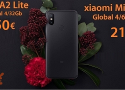 Discount Code - Xiaomi Mi A2 and Mi A2 Lite in all memory cuts!