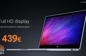 "Code de réduction - Xiaomi Air 12.5 ""4 Ordinateur portable / 128Gb SSD Argent à 439 €"