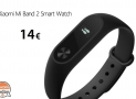Code promotionnel - Xiaomi Mi Band 2 à 14 €