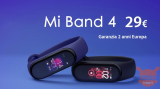 Offer - Xiaomi Mi Band 4 international to 29 € warranty 2 years Europe priority shipment Included!