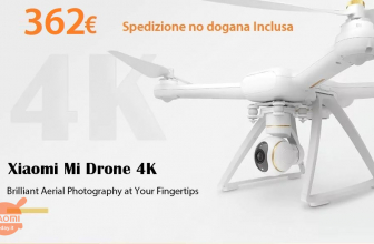 Offer - XIAOMI Mi Drone 4K to 362 € shipping No customs included