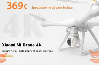 Discount Code - XIAOMI Mi Drone 4K at 369 € FREE priority shipping