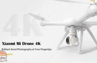 Discount Code - XIAOMI Drone 4K to 376 € shipping express italy included