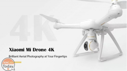 Discount Code - XIAOMI Mi Drone 4K at 426 € FREE priority shipping
