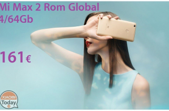 Oferta - Xiaomi Mi Max 2 Gold 4 / 64Gb Rom Global do 161 €
