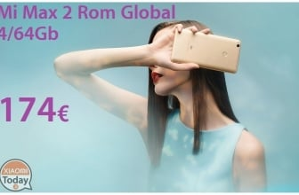 Discount Code - Xiaomi Mi Max 2 International Gold 4 / 64Gb 174 € expedition Italy Express included