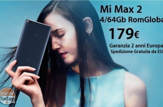 Discount Code - Xiaomi Mi Max 2 Black 4 / 64Gb to 179 € 2 years European warranty and FREE shipping from EU warehouse!