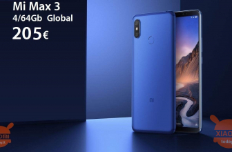 Kod rabatowy - Mi Max 3 GLOBAL (Banda20) 4 / 64Gb do 205 €