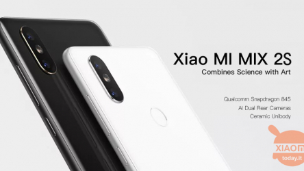 Offre - Xiaomi Mi Mix 2S Global 6 / 128Gb à 229,90 € d'Amazon Prime
